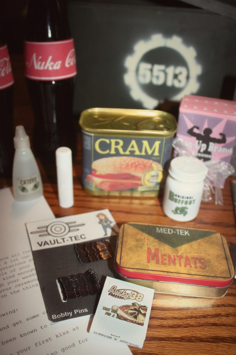 Fallout: New Vegas Wedding Survival Kit